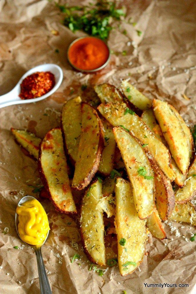 Baked PotatoWedges