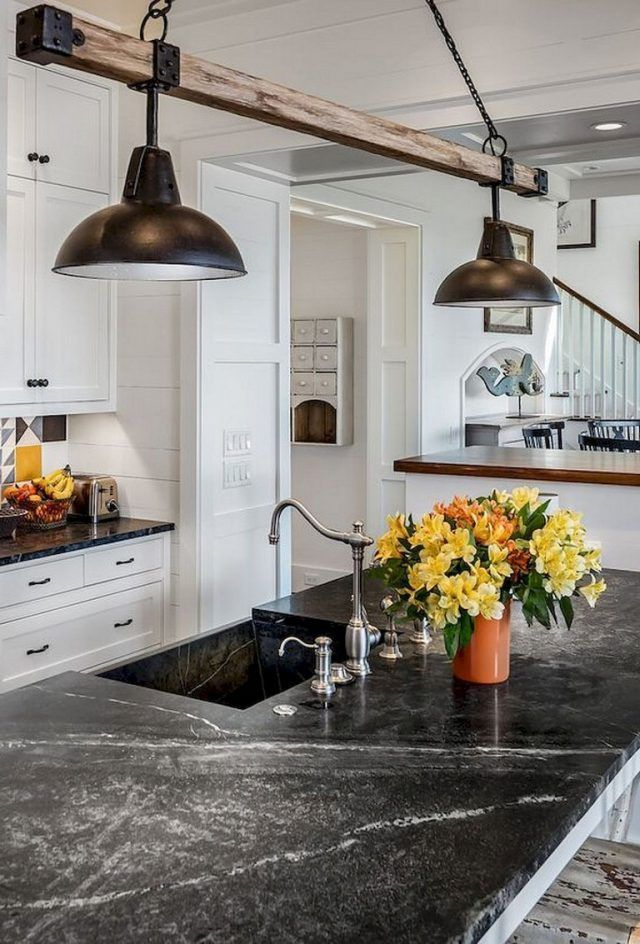 35 Awesome Most Amazing Rustic Farmhouse Kitchen Design With