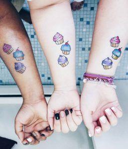 60 Amazing Best Friend Tattoos für BFFs