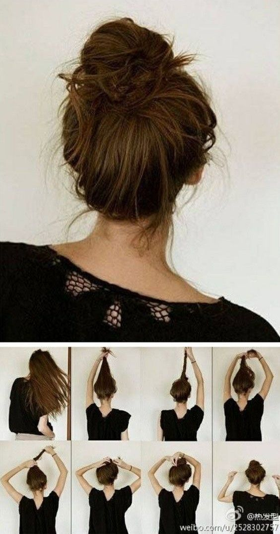 Stupendous 1000 Ideas About Easy Everyday Hairstyles On Pinterest Everyday Short Hairstyles Gunalazisus