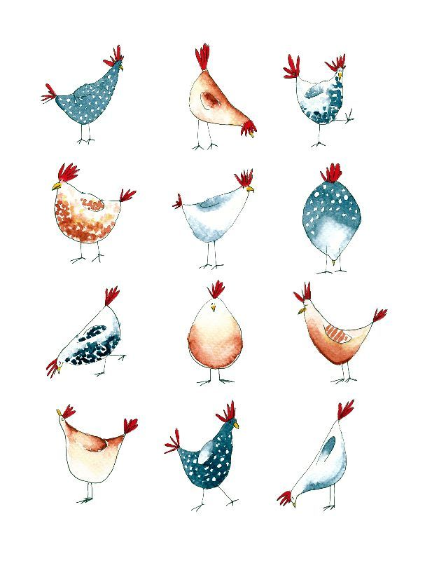 Mother Clucking Chickens by swillustration