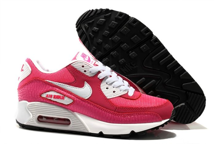 Cheap Nike Air Max 90 Shoes Women PEACH N Red White And Pink are sold with Nike Air Max Women Online