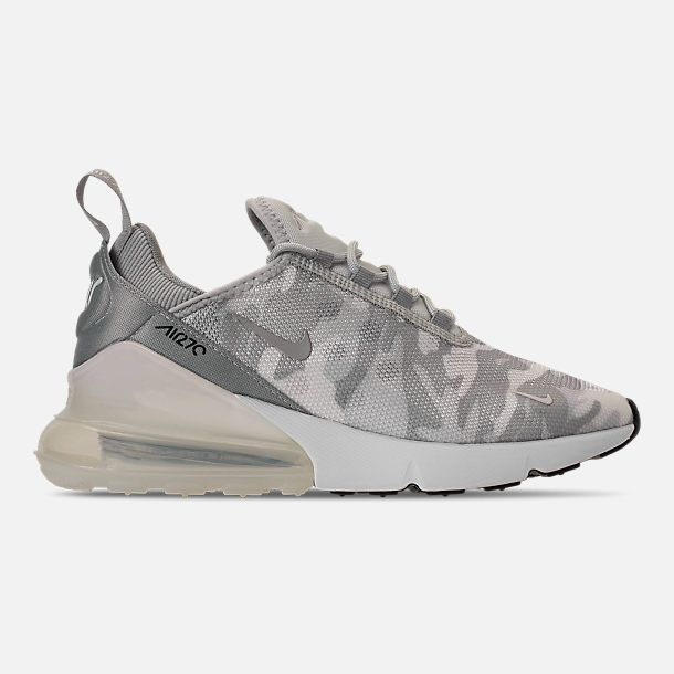 a0904941028c Right view of Women s Nike Air Max 270 SE Casual Shoes in Pure Platinum  White Wolf Grey