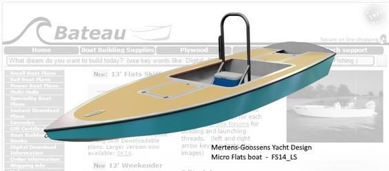 Fast Skiff 14 Low Sheer Version - Study Plans | home build ...