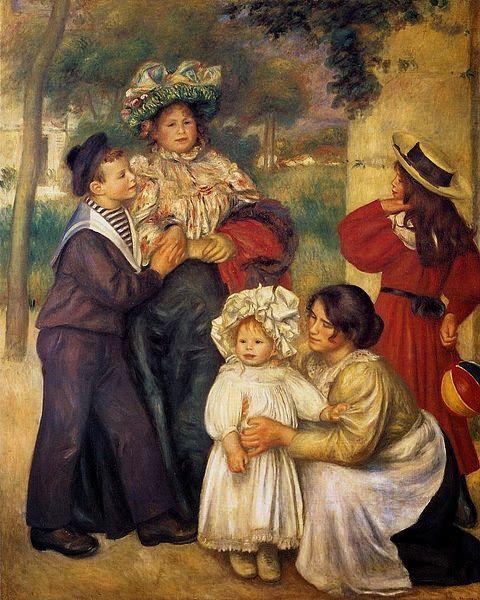 Η οικογένεια του καλλιτέχνη (1896)