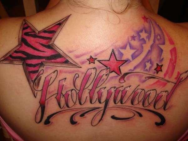 zebra print tattoos | HollyWooD!! tattoo