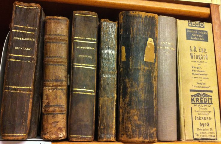 Några vanliga latinska ord i kyrkobokföringen