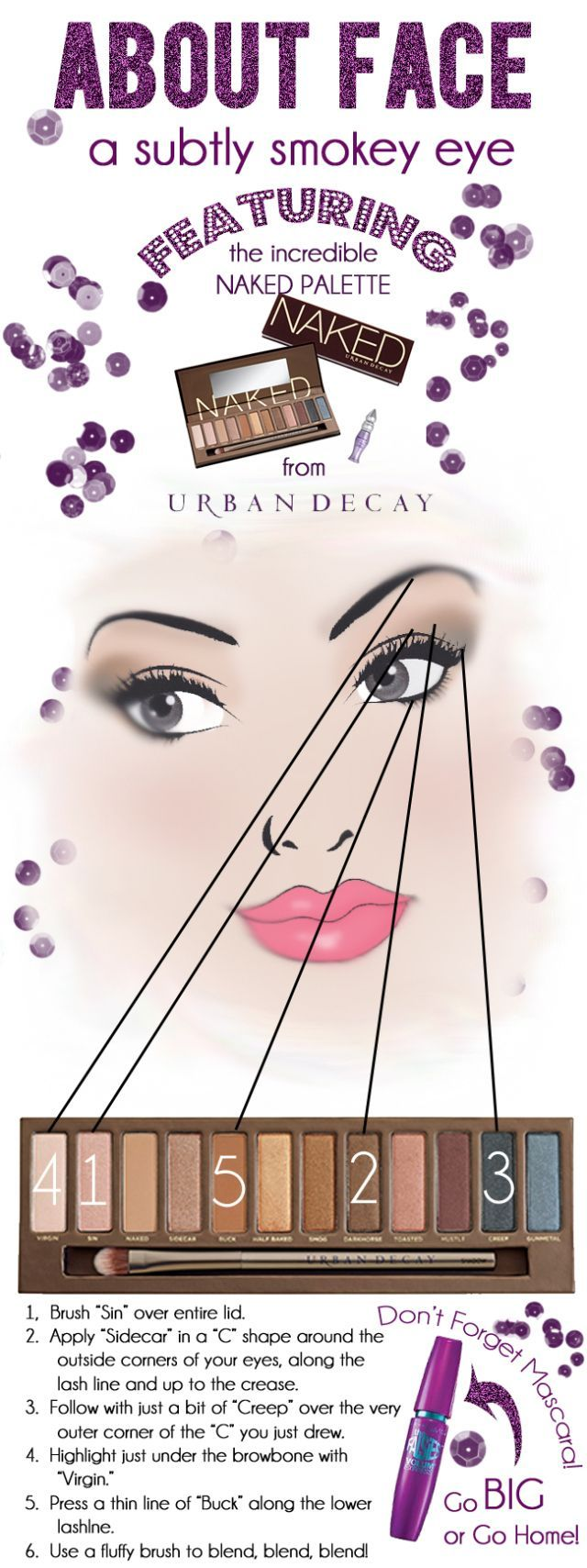 We bring you this subtle smokey eye tutorial! Make your eyes look amazing easily! This tutorial features Naked Palette by Urban Decay!