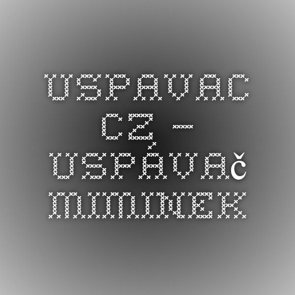 Uspavac.cz – Uspávač miminek.