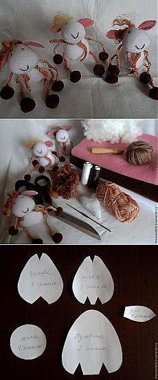 Como cosí ovejas - Feria Maestros - hecho a mano, hecho a mano