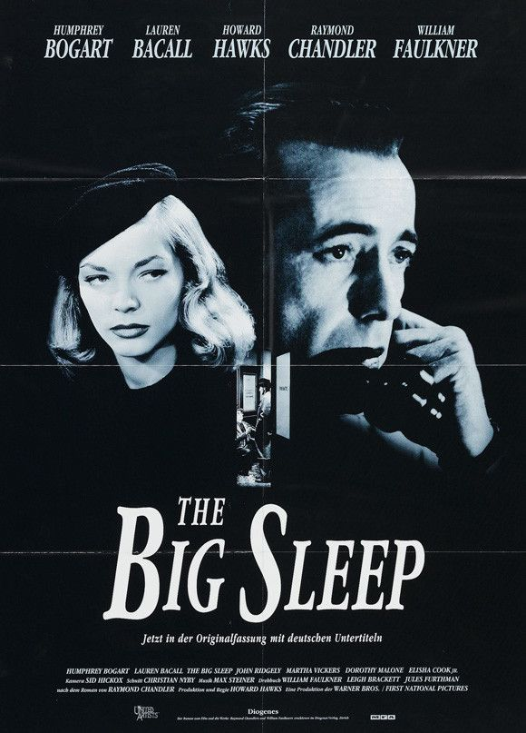 The Big Sleep (Swiss) 11x17 Movie Poster (1946)