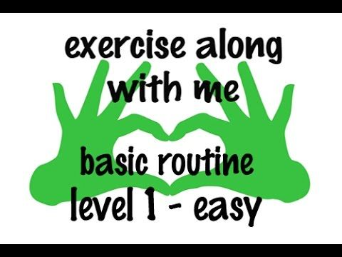 Face Exercise - Exercise Along With Me - Basic FACE EXERCISE Routine - Level 1 - Easy - YouTube