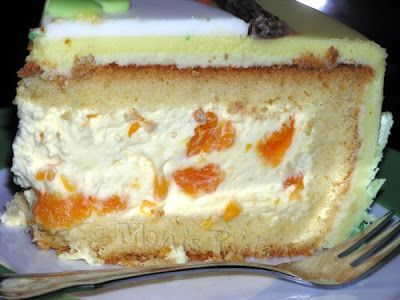 Käse-Sahne-Mandarinen Füllung. Super lecker und frisch