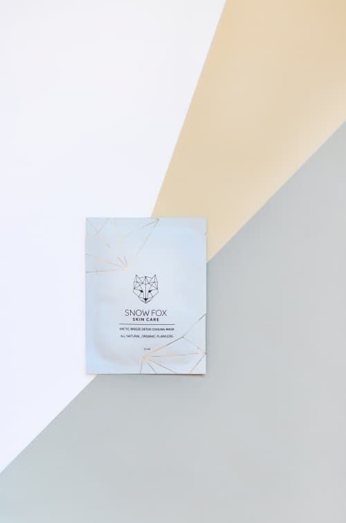 Snow Fox Skincare is a natural and organic skincare brand. We focus on a minimalist routine with only three steps. The Snow Fox daily skin regimen brightens and refreshes your skin.