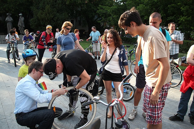 Critical Mass Bratislava by vera kisel, via Flickr