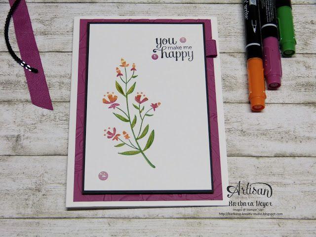 12 besten Stampin up flirty flowers Bilder auf Pinterest | Deko ...