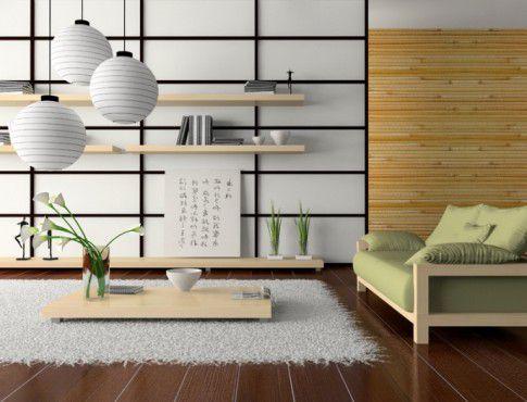 Modern tokonoma in an apartment