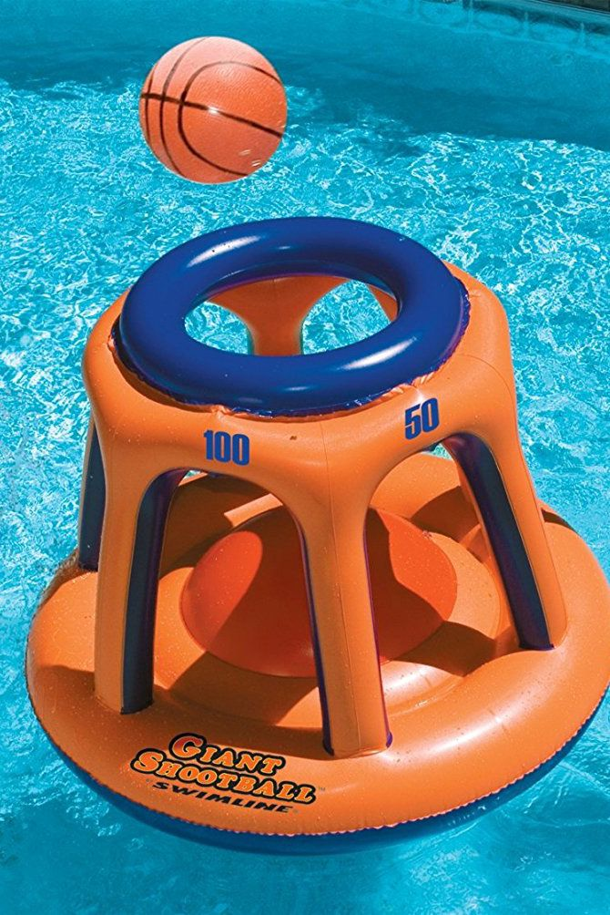 Giant Shootball Inflatable Pool Toy