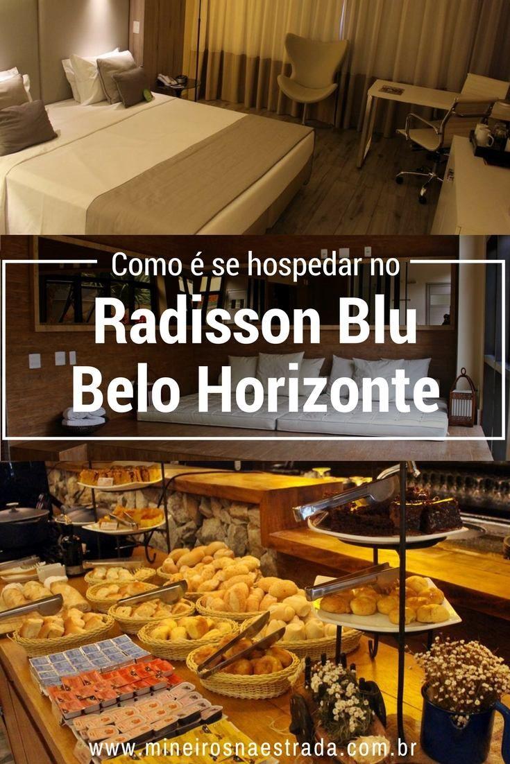 Radisson Blu Belo Horizonte, um hotel bem localizado, na região da Savassi, com quartos confortáveis e excelente café da manhã.