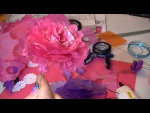 12 best crazy 4 carnations images on pinterest carnations floral how to make tissue paper carnation mightylinksfo