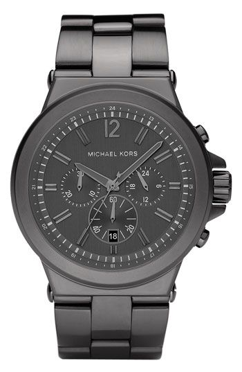 for NATE: Michael Kors Large Chronograph Bracelet Watch | Nordstrom $250