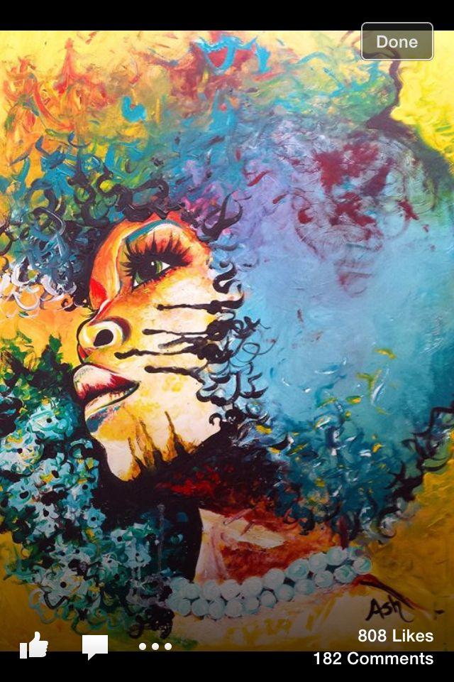 Ash the painter | eryka badu | her voice it love