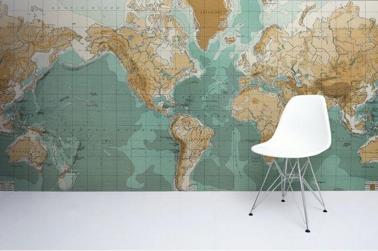 Bathyorographical-Vintage-Map-Mural
