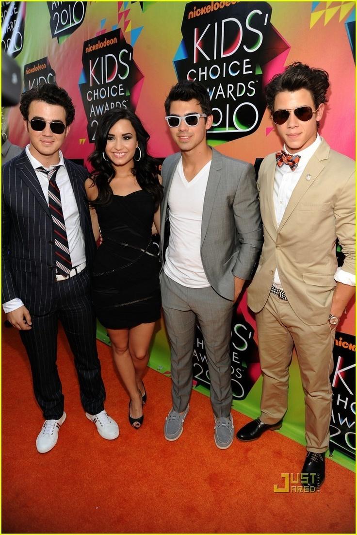 Jonas Brothers and Demi