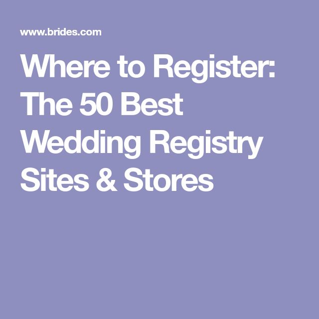 Best 25 wedding gift registry ideas on pinterest for Unique wedding registry sites