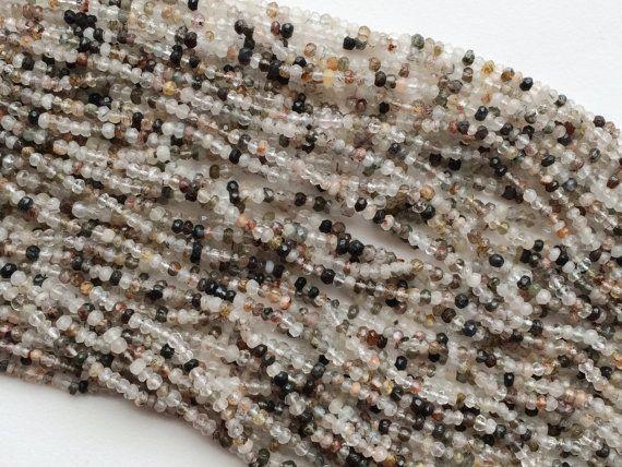 WHOLESALE 5 Strands Multi Rutile Quartz Beads by gemsforjewels