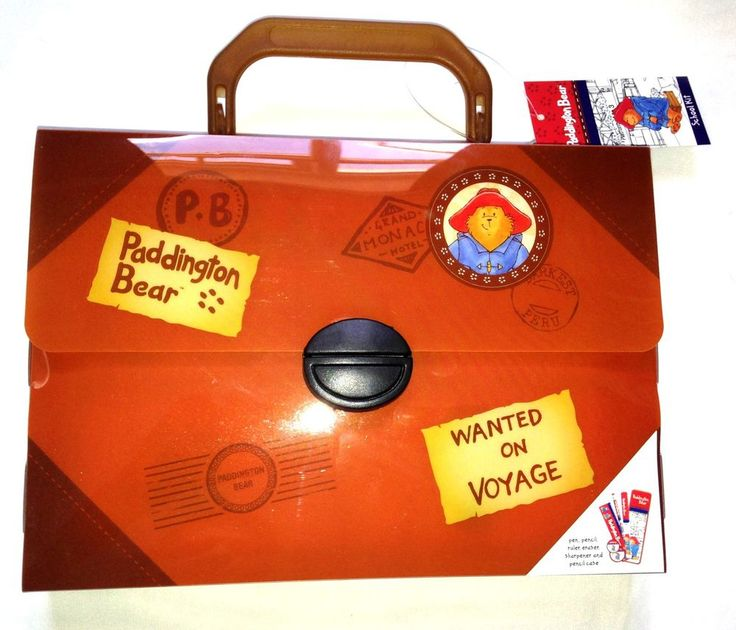 Paddington Bear Traditional School Kit with Travel Case