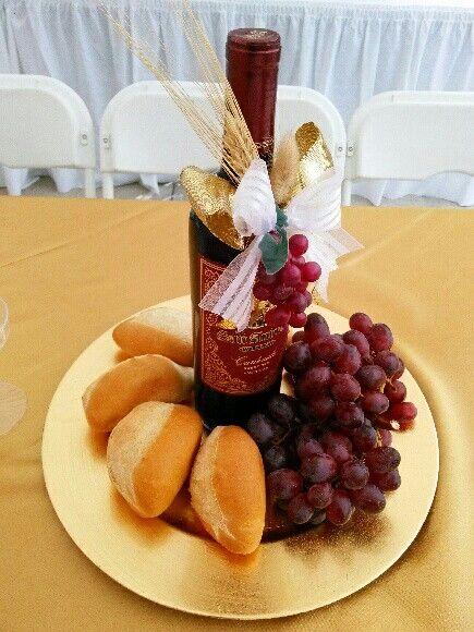 Un centro de mesa inolvidable y comestible para primera comunion o confirmacion!