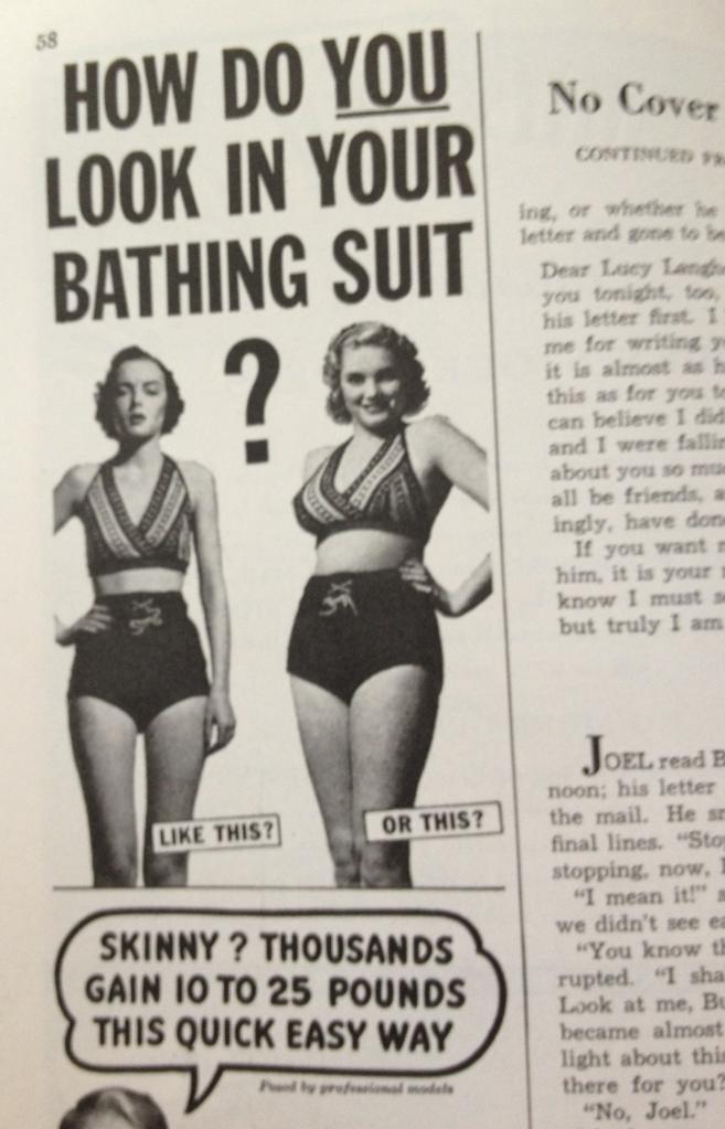 Reklam ifrån 50-talet. Handlar om samma sak fast tvärtom :)
