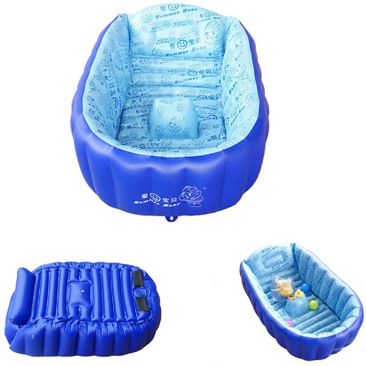 Children baby bathed tub thickened inflatable of portable swimming pools 90cm Bathtubs