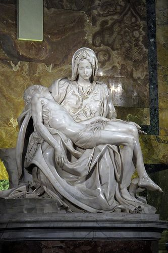 La Pietà by Michelangelo | From Wikipedia: La Pietà (1499) i… | Flickr