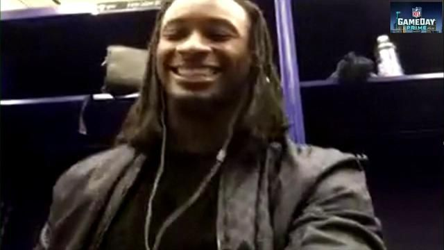 Todd Gurley II discusses Jared Goff's running skills with Deion Sanders