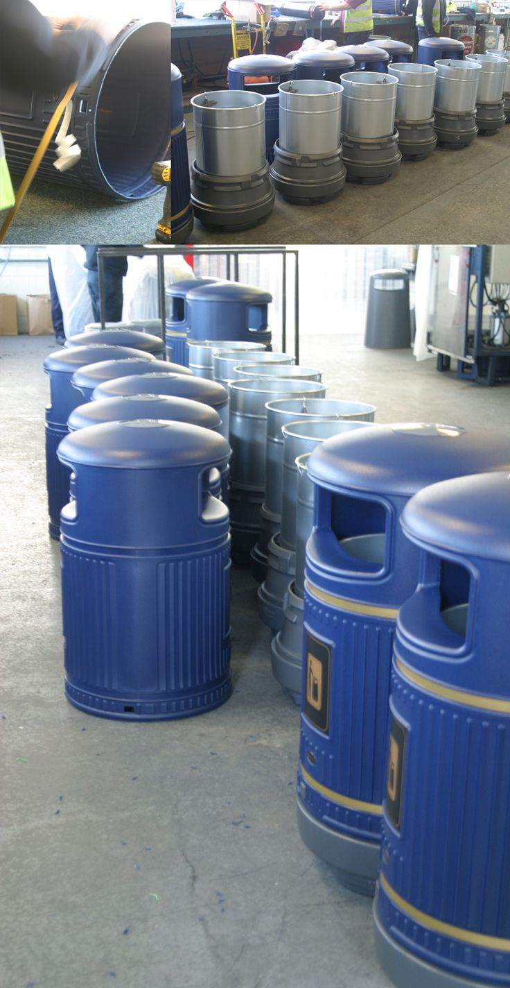 We can cater for most personalisation requests, even the colour of our products (subject to MOQ). These Topsy Royale™ litter bins have been specially made with blue hoods.