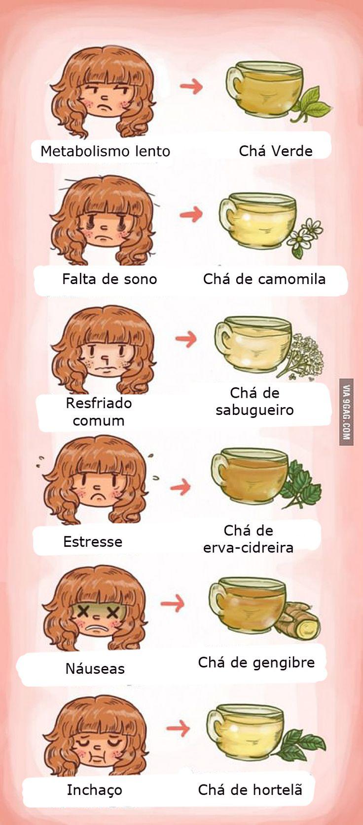 Chás e seus benefícios #boadica