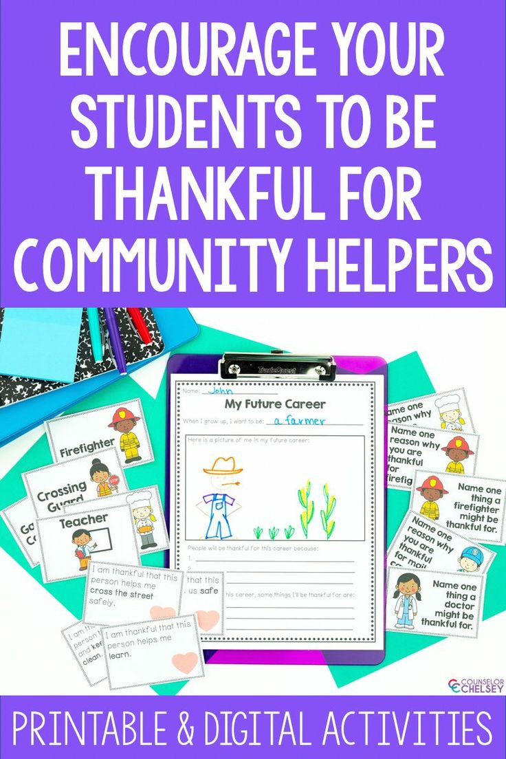 Gratitude And Career Activities I Am Thankful For