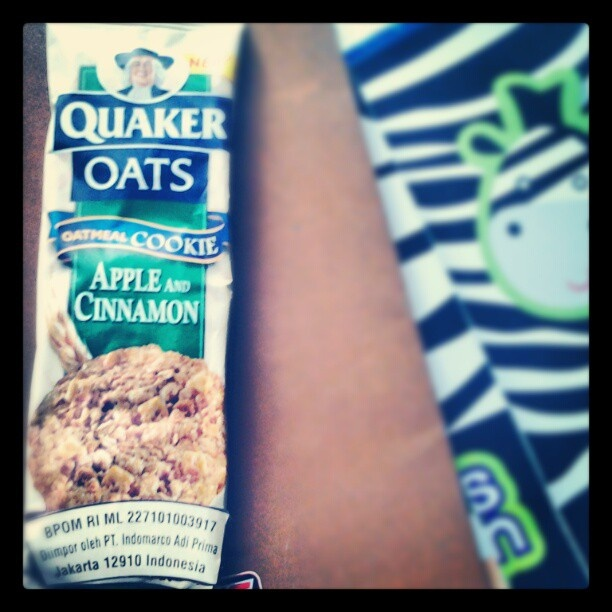 #quaker #oats #cookies #oatmeal #apple #cinnamon #instadonesia #instafood - @reginapitupulu- #webstagram
