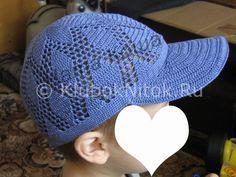 Кепка «Двойная радуга» | Вязание для детей | Вязание спицами и крючком. Схемы вязания.