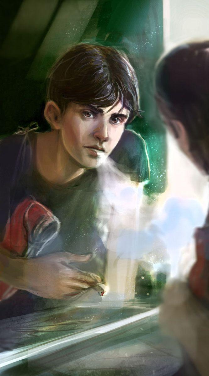 Smoker by Dina-Tukhvatulina on DeviantArt