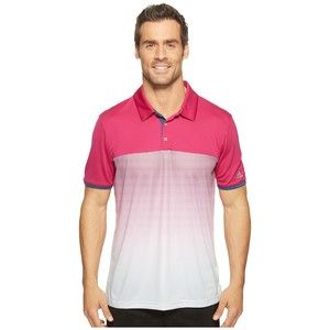 Polos Adidas Golf vert lime Sportifs homme 5dJzxq