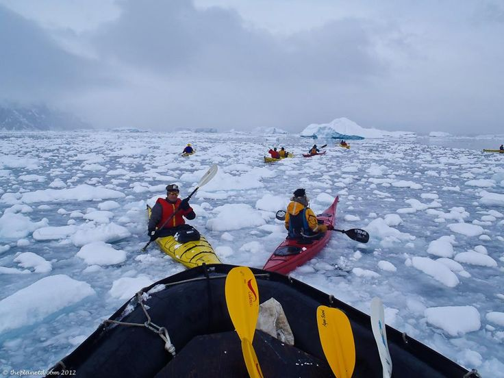 When visiting Antarctica you must go kayaking. Reserve your kayak when you book your ship, they sell out fast!