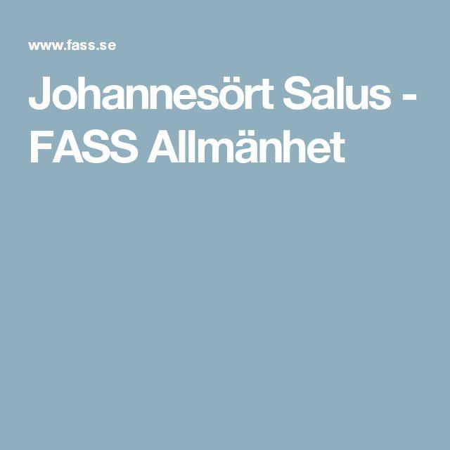 Johannesört Salus - FASS Allmänhet