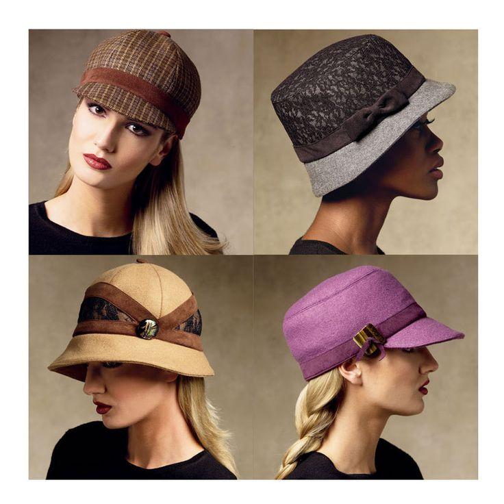 Sombrero de mujer modelo Vogue sin cortar V8941 por CynicalGirl