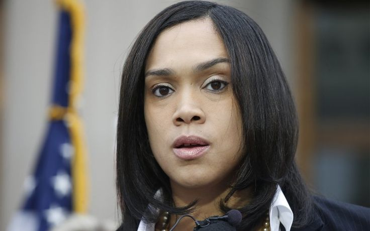 Disbarment Charges are Filed Against Baltimore State Attorney Marilyn Mosby THIS BITCH SHOULD SERVE TIME FOR *EACH* OFFICER.   She should also have to pay restitution to them for any salary that they missed out on, AND any  kind of pain and suffering they went through.   also she should pay back the city of Baltimore for all of its time and resources that she wasted right from the very beginning