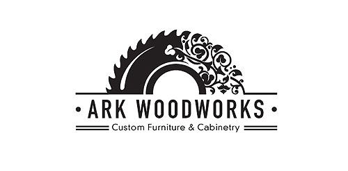 Another cute logo. Love how the arch starts as a chainsaw and ends with a beautiful intricate design. You know at a glance what this company is about.