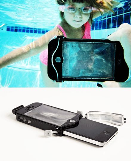 The latest must have holiday accessory – a scuba suit for your iphone!!  A 100% waterproof driSuit to take into the pool or down the water slide for some cool underwater photos :)