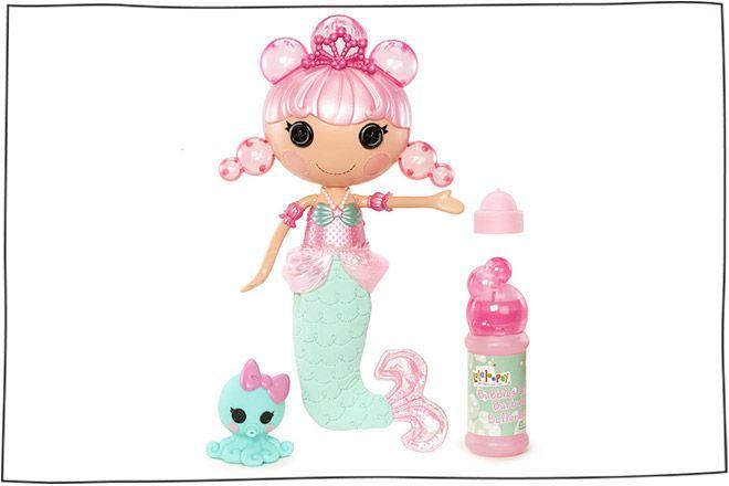 DOLLS FOR BATHTIME  Lalaloopsy Bubbly Mermaid